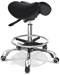 "Saddle Task Stool without backrest, air lift adjustable height from  21.3"" to 28.5"""